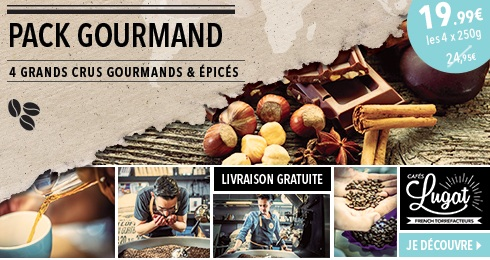 Pack gourmand Caf�s Lugat � seulement 19,99 ?